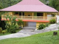 The cottage garden, a traditional Maisin the heart of MARTINIQUE