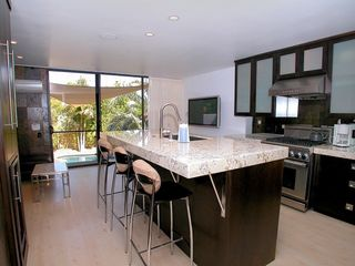 Great Room and Gourmet Kitchen with views to pool - Mission Bay house vacation rental photo