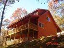 Cabin From Back - Ellijay cabin vacation rental photo