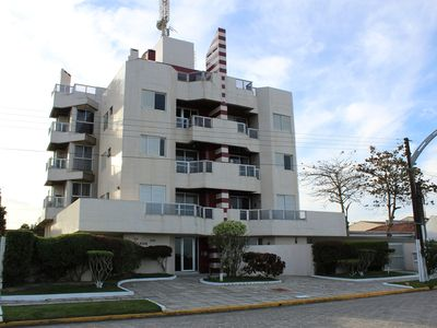 Apartment Beira Mar - 02 rooms - Balcony with Churraqueira - 1 parking garage
