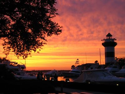 Image result for Harbour Town Sunset