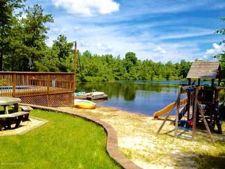 Lakefront in pocono 2 docks swimming homeaway long pond for Long pond pa cabin rentals