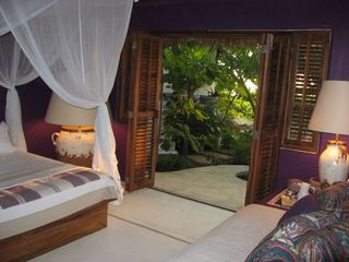 Puerto Escondido villa photo - Purple Garden Suite