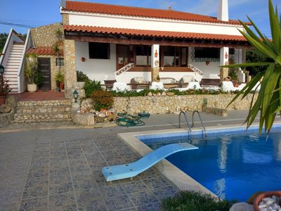 NEW FOR THIS SEASON Rustic 3 bedroom villa with a south facing terrace and pool