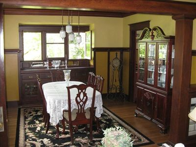 Formal Dining Room for everyday or special meals.