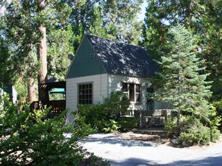 Lake Arrowhead cabin photo - Welcome to the Lake Arrowhead Cottage, beautifully nestled in the woods.