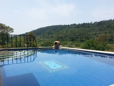 Restored Village House, Ideal Rural Retreat with private pool and stunning views