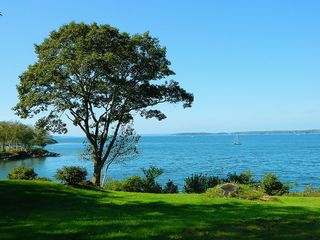 Looking toward Portland. - Harpswell cottage vacation rental photo