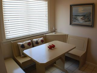 "St. Augustine Beach house photo - ""Sand"" cute, cozy breakfast nook!"