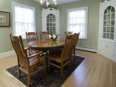 Sturgeon Bay house rental - Dining room
