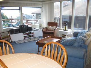 Awesome ocean view from living room - Lincoln City house vacation rental photo