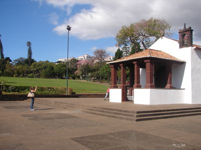 Funchal apartment rental - The little chapel of the Gardens, very touristic..