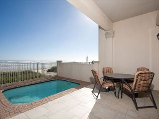 South Padre Island house photo - Private Pool and Patio