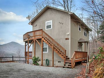 Maggie Valley house rental - Welcome to Falcon Ridge, perched high above everything in the smokey mountains.