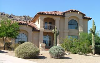 Goodyear house photo - Custom Home Estrella Mt. home w/private pool and heated spa backs mountains