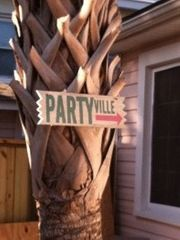 Folly Beach cottage photo - PARTYville....or NAPville
