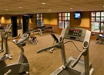One of Three Workout Rooms at The Village of Mammoth, Condo Rental