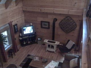 Claytor Lake cabin photo - Living room