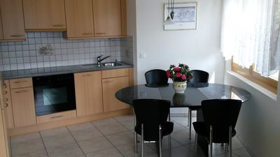 2. Beautiful 5 room flat. with Panaromaaussicht of the Valais Alps, max 3 pers