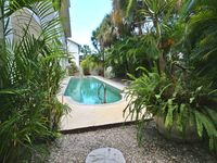 Spacious and Private. Key West Style Pool Home, located 1/2 block to the beach