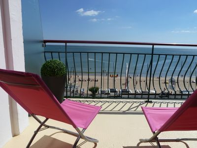Beautiful 2 room apartment facing the sea in the center of La Baule Bay