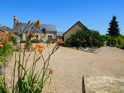 Magnificent Farmhouses & Pool with Cover in the Loire Valley ideals for families