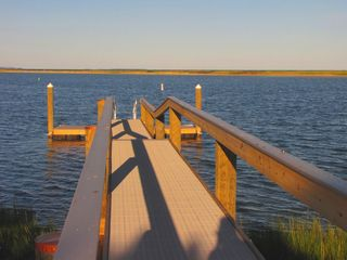 New Seabury house photo - Fabulous brand new PRIVATE dock! Bring your boat and kayaks.