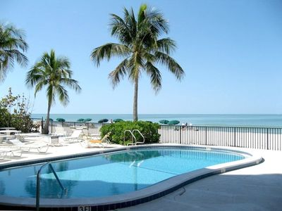 Heated Pool facing the Beach and Gulf of Mexico