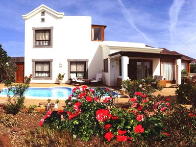 Villa at sea Garden with heated pool 30˚ Airco Wifi Luxury Privacy Lovely quiet!