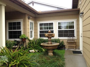 San Luis Obispo apartment rental - Courtyard view of Casita 'wing'