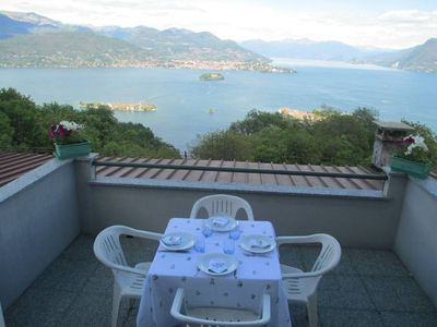Apartement in Someraro Stresa with a unique view on the Lake