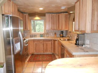 Gourmet kitchen with Stainless Steel Appliances - Nederland lodge vacation rental photo