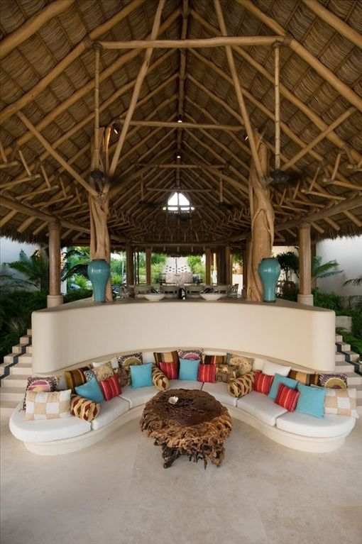 Grand Palapa Living /Dining Room (Pavilion 1)