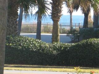 Caribbean Dunes condo photo - Your personal Gulf view from the patio