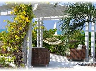 Providenciales - Provo condo photo - Relaxing pergola with hammock