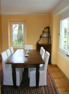 Varenna house rental - Dining room