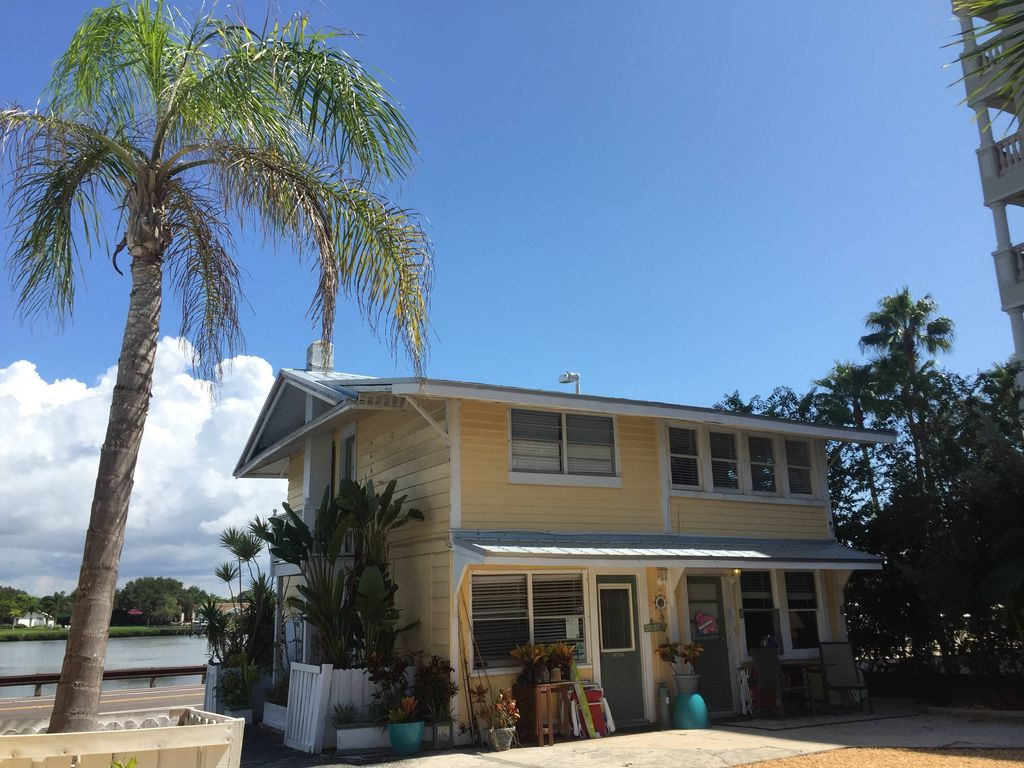 Island Beach Cottage Surrounded Homeaway Florida