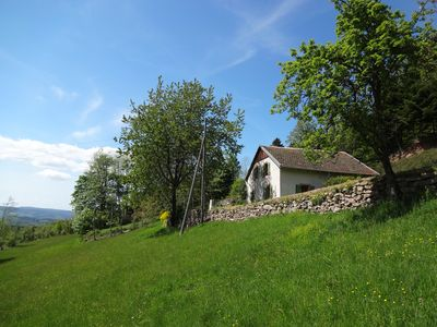 Quiet cottage in the countryside at 725 m