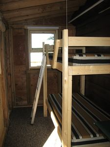 New Bunk Beds on side sleeping porch in 2010