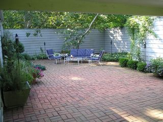 Wainscott Village house photo - Patio Courtyard