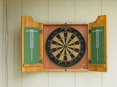 The Dartboard for some old-fashioned fun