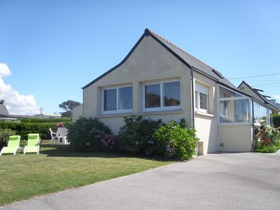 Detached house for 4 people with superb sea views, close GR 34