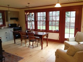 Stowe house photo - Dining Area Near Kitchen-Open Plan