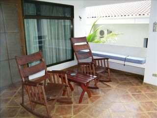 Playa Ocotal condo photo - Deck with Access from Living/Dining Room and Master Bedroom