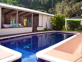 Kaneohe house photo - Pool Area