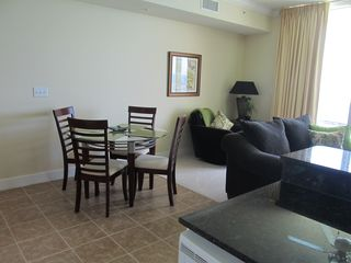 Tidewater Beach Resort condo photo - Dining and Living Room Area