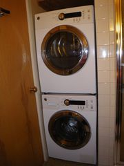 Jay Peak condo photo - New Front Load Washer and Dryer