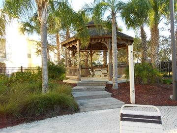 Gazebo behind Pool and Club House