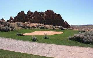 St. George house photo - Adjacent to Sand Hollow Golf Course ---- voted # 1 in Utah 'Golf Week 2010'