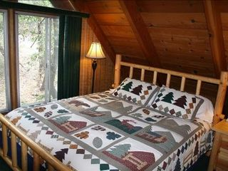 Moonridge cabin photo - Luxury Bedding and down comforters